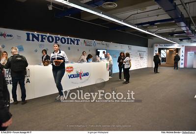 In giro per #Volleyland Mediolanum Forum Milano, 06.02.2016 FOTO: Michele Benda © 2016 Volleyfoto.it, all rights reserved [id:20160206.MB2_7215]