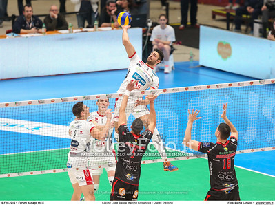 Cucine Lube Banca Marche Civitanova - Diatec Trentino SemiFinale Del Monte® Coppa Italia 2015/16.  Mediolanum Forum Milano, 06.02.2016 FOTO: Elena Zanutto © 2016 Volleyfoto.it, all rights reserved [id:20160206.4B2A8637]