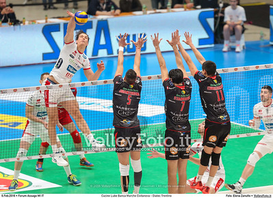 Cucine Lube Banca Marche Civitanova - Diatec Trentino SemiFinale Del Monte® Coppa Italia 2015/16.  Mediolanum Forum Milano, 06.02.2016 FOTO: Elena Zanutto © 2016 Volleyfoto.it, all rights reserved [id:20160206.4B2A8634]