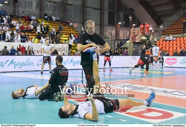 «Sir Safety Conad Perugia - Top Volley Latina»