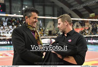 Alberto GIULIANI [Allenatore] e Gino SIRCI