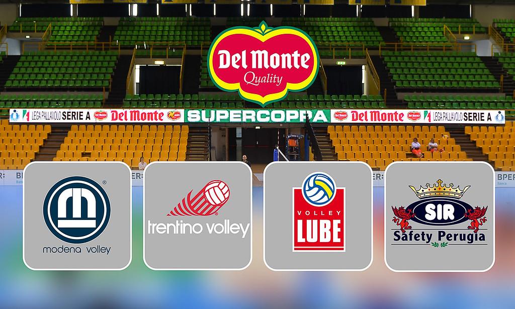 «Azimut Modena - Diatec Trentino» Semifinale Del Monte® SuperCoppa