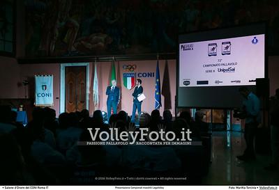 """""""Presentazione Campionati"""" LegaVolley"""