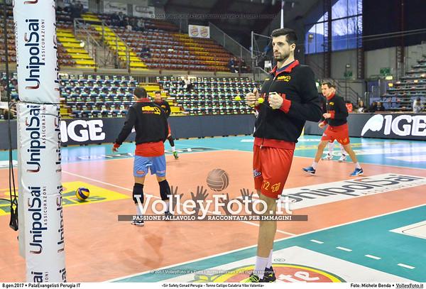 «Sir Safety Conad Perugia - Tonno Callipo Calabria Vibo Valentia»