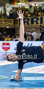 durante «Azimut Modena - Diatec Trentino» Semifinale Del Monte® SuperCoppa presso PalaPanini Modena IT, 24 settembre 2016 - Foto di Massimiliano Marini [1609_MODTRE_0079]