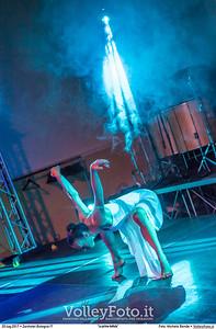 La performance della danzatrice Valentina Marino