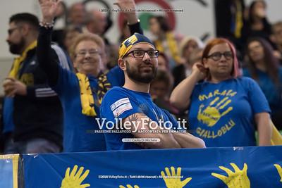 durante «Azimut Modena - Calzedonia Verona» 5ª giornata di ritorno Campionato italiano di Pallavolo Maschile Serie A1 SuperLega UnipolSai presso PalaPanini Modena IT, 14 gennaio 2018. Foto: Giulia Di Michele