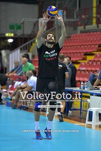 Gianluca GALASSI durante  Memorial Valter Baldaccini presso PalaBarton Perugia IT, 25 settembre 2018 - Foto di Michele Benda per VolleyFoto [Riferimento file: 2018-09-25/ND5_3172]