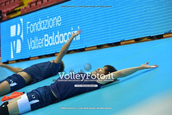 Yuki ISHIKAWA durante  Memorial Valter Baldaccini presso PalaBarton Perugia IT, 25 settembre 2018 - Foto di Michele Benda per VolleyFoto [Riferimento file: 2018-09-25/ND5_3129]
