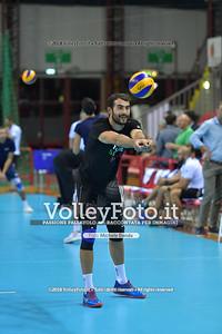 Gianluca GALASSI durante  Memorial Valter Baldaccini presso PalaBarton Perugia IT, 25 settembre 2018 - Foto di Michele Benda per VolleyFoto [Riferimento file: 2018-09-25/ND5_3169]