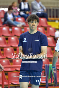 Yuki ISHIKAWA durante  Memorial Valter Baldaccini presso PalaBarton Perugia IT, 25 settembre 2018 - Foto di Michele Benda per VolleyFoto [Riferimento file: 2018-09-25/ND5_3123]