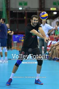 Gianluca GALASSI durante  Memorial Valter Baldaccini presso PalaBarton Perugia IT, 25 settembre 2018 - Foto di Michele Benda per VolleyFoto [Riferimento file: 2018-09-25/ND5_3165]