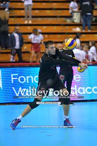 Alessandro PICCINELLI durante  Memorial Valter Baldaccini presso PalaBarton Perugia IT, 25 settembre 2018 - Foto di Michele Benda per VolleyFoto [Riferimento file: 2018-09-25/ND5_3148]