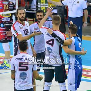Vero Volley Monza esultanza