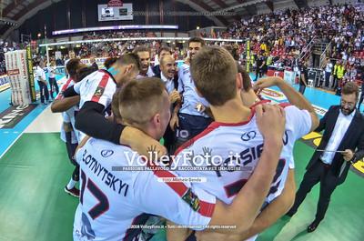 Vero Volley Monza celebra la vittoria