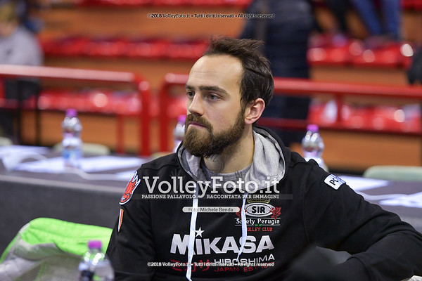 Sir Safety Conad Perugia - Consar Ravenna / 10ª giornata di andata, Campionato Italiano di Pallavolo Maschile SuperLega Credem Banca IT, 2 dicembre 2018 - Foto: Michele Benda per VolleyFoto.it [Riferimento file: 2018-12-02/ND5_4583]