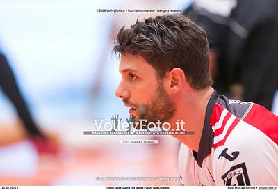 durante  presso , 23 dicembre 2018. Foto di: Mari.ka Torcivia per VolleyFoto.it [riferimento file: 2018-12-24/_65A4453]