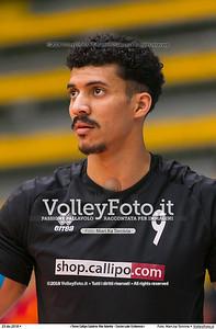 durante  presso , 23 dicembre 2018. Foto di: Mari.ka Torcivia per VolleyFoto.it [riferimento file: 2018-12-24/_65A4490]