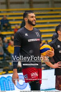 durante  presso , 23 dicembre 2018. Foto di: Mari.ka Torcivia per VolleyFoto.it [riferimento file: 2018-12-24/_65A4500]