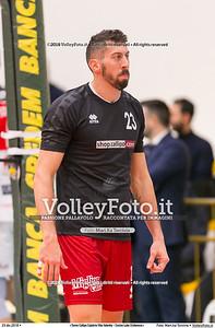 durante  presso , 23 dicembre 2018. Foto di: Mari.ka Torcivia per VolleyFoto.it [riferimento file: 2018-12-24/_65A4493]
