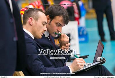 durante  presso , 23 dicembre 2018. Foto di: Mari.ka Torcivia per VolleyFoto.it [riferimento file: 2018-12-24/_65A4511]
