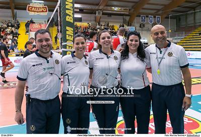 durante  presso , 23 dicembre 2018. Foto di: Mari.ka Torcivia per VolleyFoto.it [riferimento file: 2018-12-24/_MG_7161]