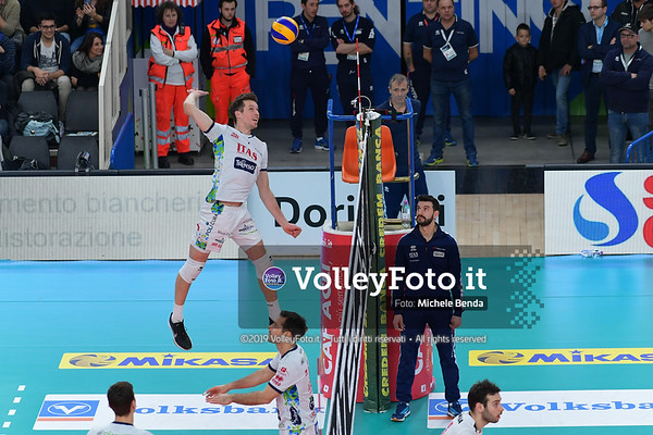 Itas Trentino - Sir Safety Conad Perugia / 3ª giornata di ritorno, Campionato Italiano di Pallavolo Maschile SuperLega Credem Banca IT, 5 gennaio 2019 - Foto: Michele Benda per VolleyFoto.it [Riferimento file: 2019-01-05/ND5_2720]