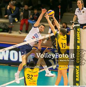 durante presso , 17 marzo 2019. Foto di: Mari.ka Torcivia per VolleyFoto.it [riferimento file: 2019-03-18/_65A3500]