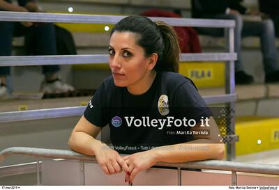 durante presso , 17 marzo 2019. Foto di: Mari.ka Torcivia per VolleyFoto.it [riferimento file: 2019-03-18/_65A3761]