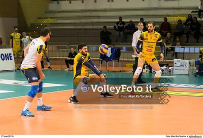 durante presso , 17 marzo 2019. Foto di: Mari.Ka Torcivia per VolleyFoto.it [riferimento file: 2019-03-18/_MG_7787]