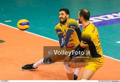 durante presso , 17 marzo 2019. Foto di: Mari.ka Torcivia per VolleyFoto.it [riferimento file: 2019-03-18/_65A3556]