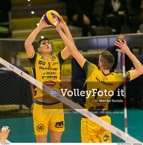 durante presso , 17 marzo 2019. Foto di: Mari.ka Torcivia per VolleyFoto.it [riferimento file: 2019-03-18/_65A3569]