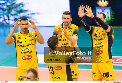 durante presso , 17 marzo 2019. Foto di: Mari.ka Torcivia per VolleyFoto.it [riferimento file: 2019-03-18/_65A3191]