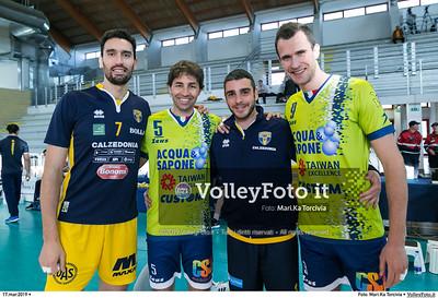 durante presso , 17 marzo 2019. Foto di: Mari.Ka Torcivia per VolleyFoto.it [riferimento file: 2019-03-18/_MG_7756]
