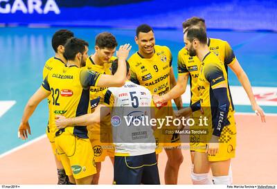 durante presso , 17 marzo 2019. Foto di: Mari.ka Torcivia per VolleyFoto.it [riferimento file: 2019-03-18/_65A3194]