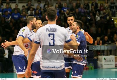 durante presso , 17 marzo 2019. Foto di: Mari.ka Torcivia per VolleyFoto.it [riferimento file: 2019-03-18/_65A3719]