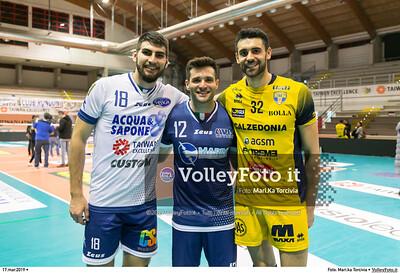 durante presso , 17 marzo 2019. Foto di: Mari.ka Torcivia per VolleyFoto.it [riferimento file: 2019-03-18/_65A3842]