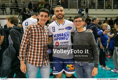durante presso , 17 marzo 2019. Foto di: Mari.ka Torcivia per VolleyFoto.it [riferimento file: 2019-03-18/_65A3836]