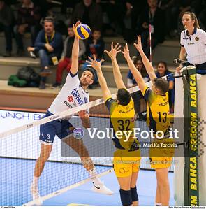 durante presso , 17 marzo 2019. Foto di: Mari.ka Torcivia per VolleyFoto.it [riferimento file: 2019-03-18/_65A3493]