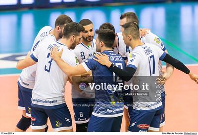 durante presso , 17 marzo 2019. Foto di: Mari.ka Torcivia per VolleyFoto.it [riferimento file: 2019-03-18/_65A3201]