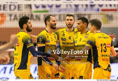 durante presso , 17 marzo 2019. Foto di: Mari.ka Torcivia per VolleyFoto.it [riferimento file: 2019-03-18/_65A3541]