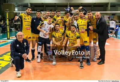durante presso , 17 marzo 2019. Foto di: Mari.ka Torcivia per VolleyFoto.it [riferimento file: 2019-03-18/_65A3825]