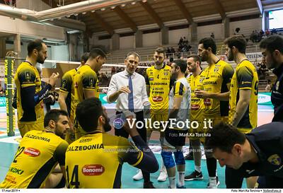 durante presso , 17 marzo 2019. Foto di: Mari.Ka Torcivia per VolleyFoto.it [riferimento file: 2019-03-18/_MG_7778]