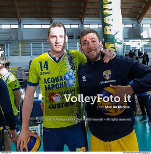 durante presso , 17 marzo 2019. Foto di: Mari.Ka Torcivia per VolleyFoto.it [riferimento file: 2019-03-18/_MG_7755]