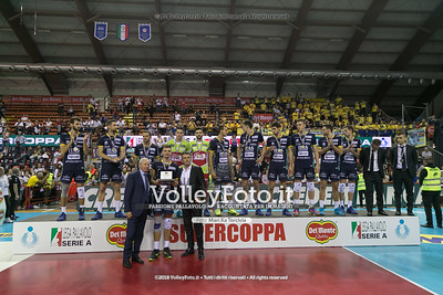 Finale 1ª/2ª posto Del Monte® Supercoppa 2018, SuperLega Pallavolo Maschile Serie A1