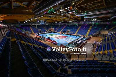 Eurosuole Forum, prima del match