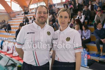 Dominga LOT, 1º Arbitro, Andrea POZZATO, 2º Arbitro