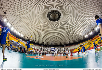 Club Italia - Cassa Rurale Cantù 15ª giornata Campionato Italiano di pallavolo maschile Serie A2 2015/16.  Palazzetto dello Sport Roma, 10.01.2016 FOTO: Mari.Ka Torcivia © 2016 Volleyfoto.it, all rights reserved [id:20160110.MariKa_MG_4395]