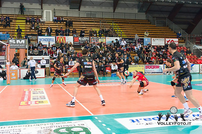 Sir Volley PERUGIA - Gherardi SVI Città di Catello / Quarti di finale Del Monte Coppa Italia Serie A2 Volley Maschile  2012