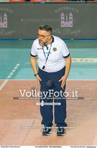 «Cer. Scarabeo Gcf Roma - Caloni Agnelli Bergamo»